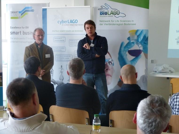 workshop: innovative loesungen fuer laborautomatisierung redner