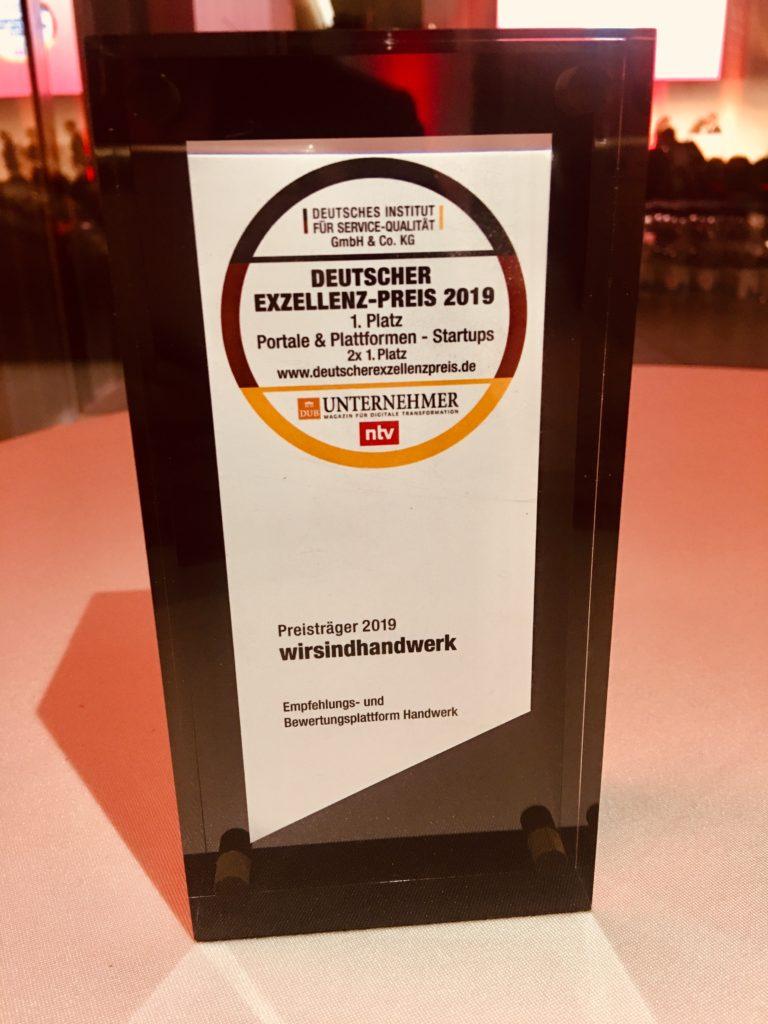 deutschen exzellenz-preis award