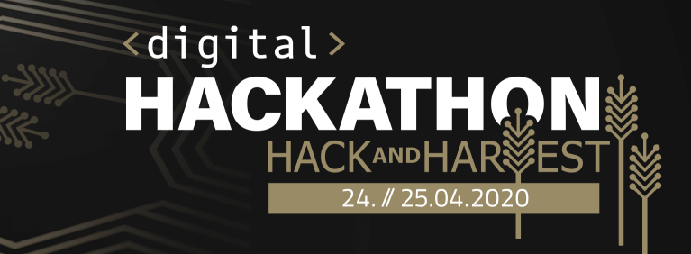 Erster digitaler HACK AND HARVEST Hackathon