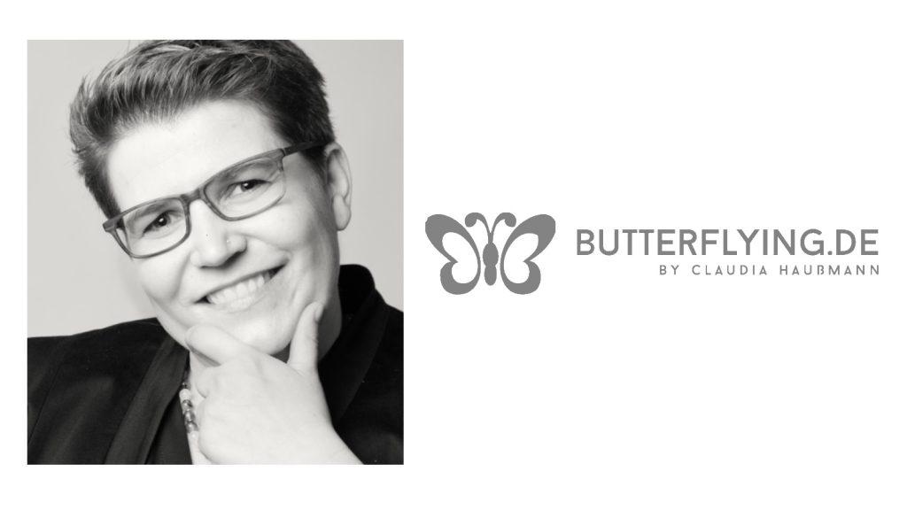 Claudia Haußmann, buttlerflying