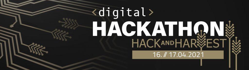 digitaler HACK AND HARVEST Hackathon 16./17. April 2021